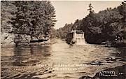 Dells of Wisconsin River - Narrows Postcard