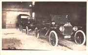 Model T Old Cars - Pandom Lake, Wisconsin WI Postcard