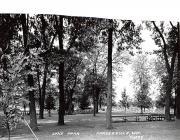 Lake Park - Pardeeville, Wisconsin WI Postcard