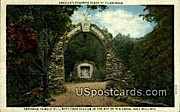 Entrance - Holy Hill, Wisconsin WI Postcard