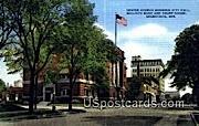 Center Ave, City Hall - Sheboygan, Wisconsin WI Postcard