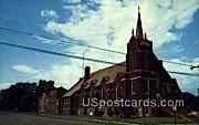 St patrick's Catholic Church - Phillips, Wisconsin WI Postcard