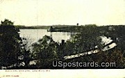 North End, Rock Lake - Lake Mills, Wisconsin WI Postcard