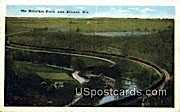 Horseshoe Curve - Ableman, Wisconsin WI Postcard