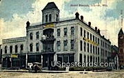 Hotel Neenah - Wisconsin WI Postcard