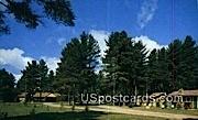 Pineaire Resort Motel - Land-o-Lake, Wisconsin WI Postcard