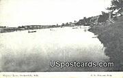 Crystal Lake - Dodgeville, Wisconsin WI Postcard