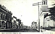 South Iowa Street - Dodgeville, Wisconsin WI Postcard