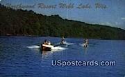Northwood Resort - Webb Lake, Wisconsin WI Postcard