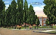 Glimpse of State Teachers' College - Superior, Wisconsin WI Postcard