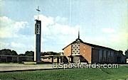 First United Lutheran Church - Sheboygan, Wisconsin WI Postcard