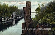 Dalles - St. Croix River, Wisconsin WI Postcard