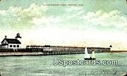 Government Pier - Racine, Wisconsin WI Postcard
