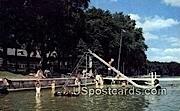 Lake Lawn Lodge - Delavan, Wisconsin WI Postcard