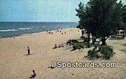Terry Andrae State Park Beach - Sheboygan, Wisconsin WI Postcard
