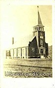 Catholic Church, Real photo - Gays Mill, Wisconsin WI Postcard