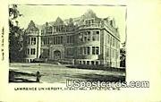 Lawrence University, Science Hall - Appleton, Wisconsin WI Postcard