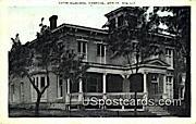 Yates Memorial Hospital - Berlin, Wisconsin WI Postcard