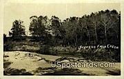 Real Photo - Sceneon Fall Creek, Wisconsin WI Postcard