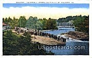 The Rapids - Keshena Falls, Wisconsin WI Postcard