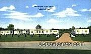 Dreamland Auto Court - Appleton, Wisconsin WI Postcard