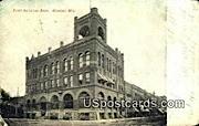 First National Bank - Wausau, Wisconsin WI Postcard