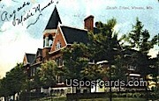 Lincoln School - Wausau, Wisconsin WI Postcard