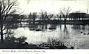 Stroller's Bridge & Old Wisconse - Wausau, Wisconsin WI Postcard
