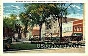 Corner of Court House Park & Third Street - Wausau, Wisconsin WI Postcard
