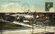 Sheboygan, WI,     ;     Sheboygan, Wisconsin Postcard