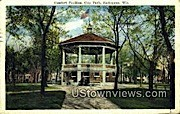 Comfort Pavilion, City Park - Sheboygan, Wisconsin WI Postcard