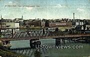 West Side - Sheboygan, Wisconsin WI Postcard