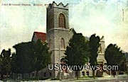First Methodist Church - Wausau, Wisconsin WI Postcard