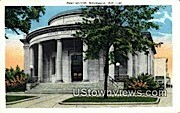 Post Office - Waukesha, Wisconsin WI Postcard