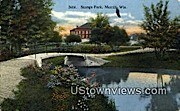 Stange Park - Merrill, Wisconsin WI Postcard