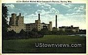 Horlick Malted Milk Co Factory - Racine, Wisconsin WI Postcard
