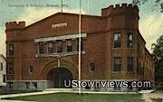 Company I Armory - Neenah, Wisconsin WI Postcard