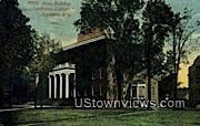 Main Building, Lawrence College - Appleton, Wisconsin WI Postcard