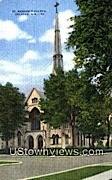 St Andrews Church - Delavan, Wisconsin WI Postcard