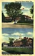 Neenah High Scool - Wisconsin WI Postcard