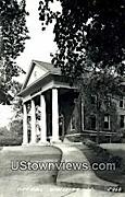 Real Photo - City Hall - Waukesha, Wisconsin WI Postcard