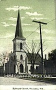Episcopal Church - Waukesha, Wisconsin WI Postcard