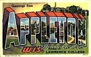 Appleton, WI,     ;     Appleton, Wisconsin Postcard