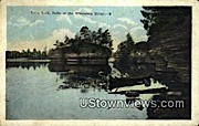 Lone Rock - Wisconsin River Postcards, Wisconsin WI Postcard