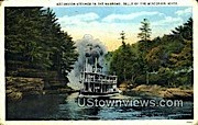 The Narrows - Wisconsin River Postcards, Wisconsin WI Postcard