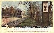 Case Steam Roller Building Cuntry Roads - Racine, Wisconsin WI Postcard