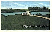 Spring House & Lagoon, Moor Mudd Baths - Waukesha, Wisconsin WI Postcard