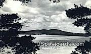 Real Photo - Rib Mountain - Wausau, Wisconsin WI Postcard