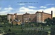 St Mary's Hospital - Wausau, Wisconsin WI Postcard