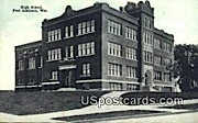 High School - Fort Atkinson, Wisconsin WI Postcard